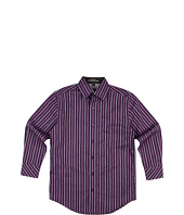 Ike Behar Kids - Brian L/S Stripe Woven Shirt (Big Kids)