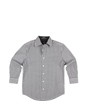 Ike Behar Kids - Reinaldo L/S Stripe Woven Shirt (Big Kids)