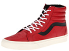 Vans - SK8-Hi Reissue ((Leather) Chili Pepper/Black) - Footwear