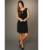 DKNYC - Long Sequin Sleeve Dress