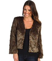 Trina Turk - Heavenly Faux Fur Cropped Jacket