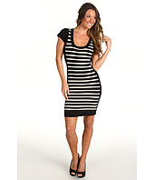 French Connection - Dani Crepe Stripe Dress 71JW8