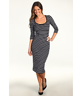 French Connection - Susu Stripe Midi Dress