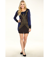 French Connection - Deco Twinkle Knit Cocktail Dress