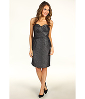 Vince Camuto - Strapless Metallic Wrap Dress
