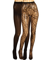 Betsey Johnson - 2 Pack Lilypad Net Solid Tight