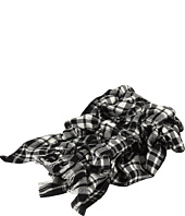 LAUREN Ralph Lauren - Puckered Lodge Plaid Oblong Scarf