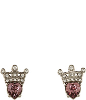 My Flat In London - Crown Jewels Small Post Earrings