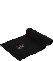 Cheap Lauren Ralph Lauren Signature Scarf With Beaded Monogram Black Shiny Gold