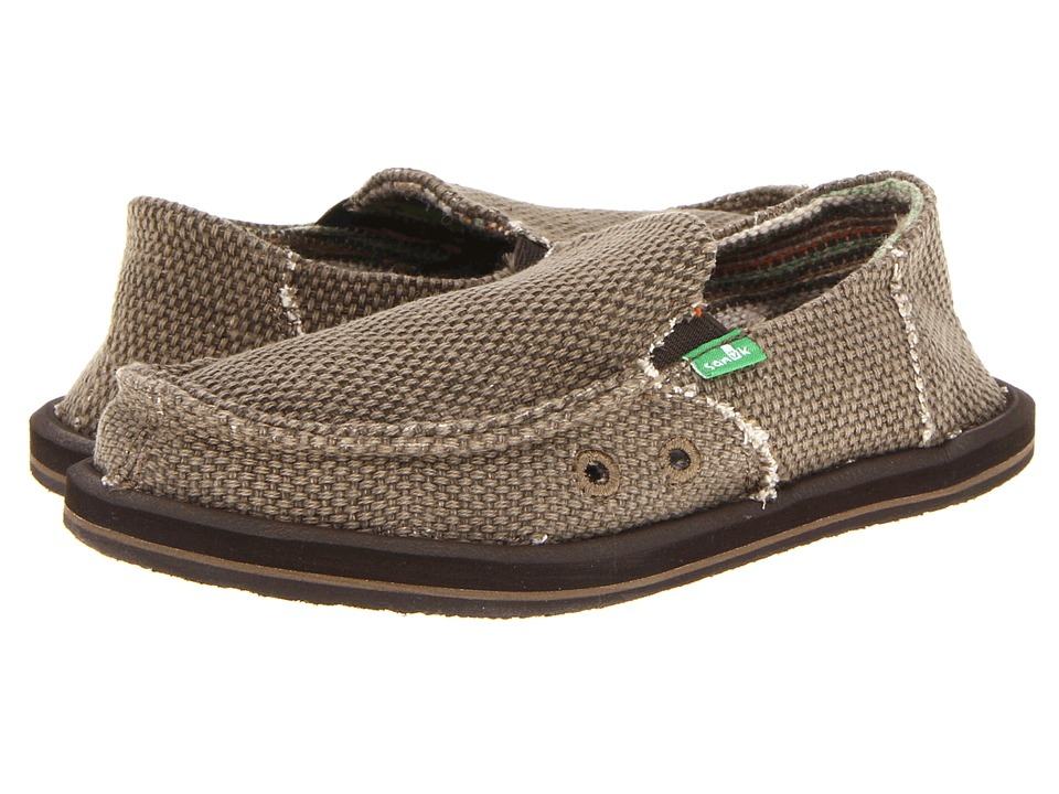 Sanuk Kids - Vagabond (Little Kid/Big Kid) (Brown) Boys Shoes