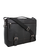 Boconi Bags and Leather - Tyler - Tumbled Expandable Flap Brief Messenger
