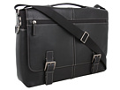 Tyler - Tumbled Expandable Flap Brief Messenger