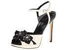 Rachel Roy - Delphine (White/Black) - Footwear
