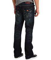 Mek Denim - Oaxaca Slim Bootcut Jean in Dark Distressed