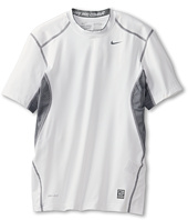Nike Kids - Nike Pro Combat Hypercool Fitted S/S Top (Little Kids/Big Kids)
