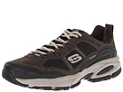 SKECHERS - Vigor 2.0 - Advantage (Brown/Black) - Footwear