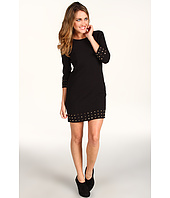 MICHAEL Michael Kors Petite - Petite 3/4 Sleeve Studded Dress
