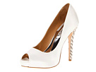 Badgley Mischka - Vixen (White Satin) - Footwear