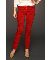 NYDJ - Sheri Skinny Jean in Red Velvet Shattered Wash
