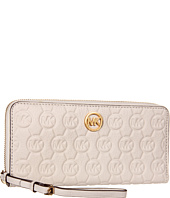 MICHAEL Michael Kors - Mono Embossed Zip-Around Continental