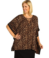 MICHAEL Michael Kors Plus - Plus Size Jaguar Lace-Up Tunic