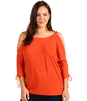 MICHAEL Michael Kors Plus - Plus Size Cold Shoulder Knit Top