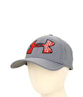 Cheap Under Armour Kids Youth Ua Big Logo Stretch Fit Cap Graphite Black Red