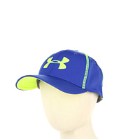 Cheap Under Armour Kids Boys Catalyst Stretch Fit Cap Royal High Visibility Yellow