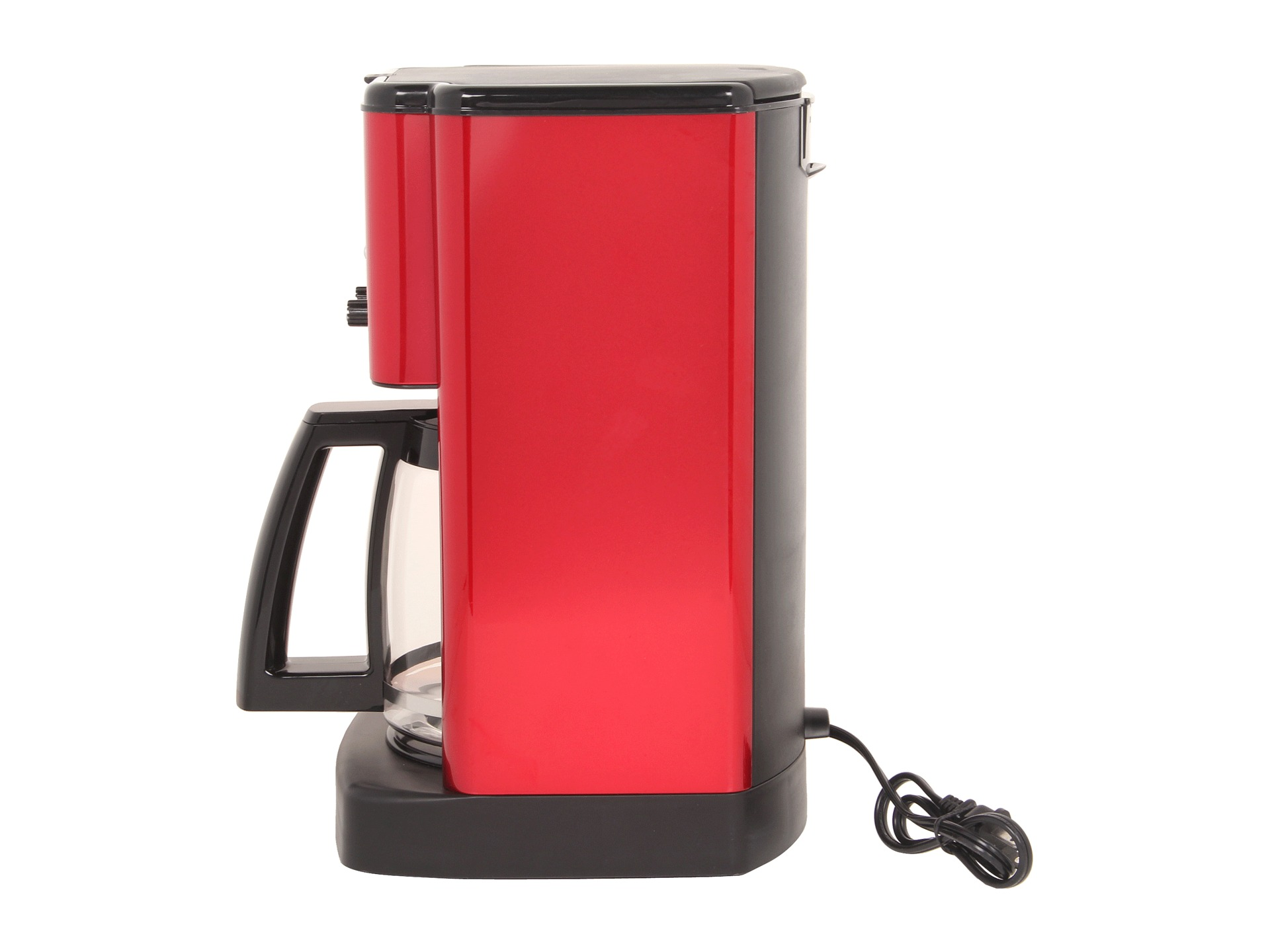Cuisinart Dcc 1200 Brew Central 12 Cup Programmable Coffee Maker Metallic Red Shipped Free at ...