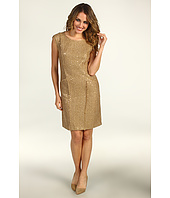 MICHAEL Michael Kors Petite - Petite Sequin Eyelash Boucle New Fray Dress