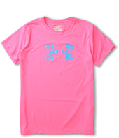 Under Armour Kids - Girls' UA Big Logo S/S Tee (Big Kids)