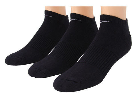 Nike Cotton Cushion No Show with Moisture Management 3-Pair Pack