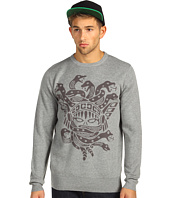 Crooks & Castles - Olmec Medusa Crew Sweater