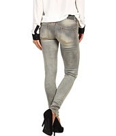 Buffalo David Bitton - Jazz Low-Rise Skinny Jean in Grey Worn