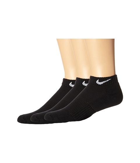 Nike Cotton Cushion Low Cut with Moisture Management 3-Pair Pack