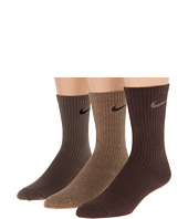 Nike - Cotton Lightweight Crew with Moisture Management 3-Pair Pack