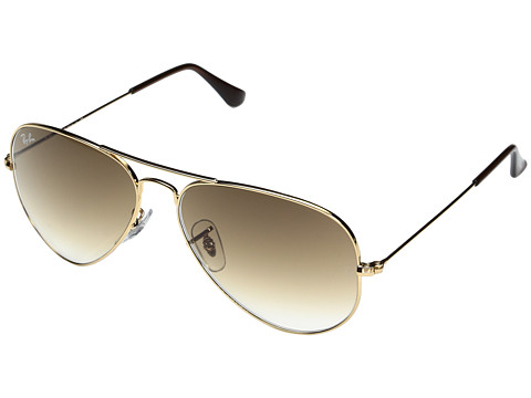 Ray-Ban RB3025 Original Aviator 58mm - Gold/Brown