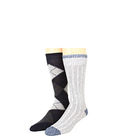 Cole Haan - Classic Argyle/Tipped Crew Casual 2 Pack