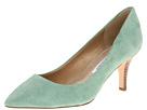 Diane Von Furstenberg - Anette 70MM (Green Haze Suede) - Footwear