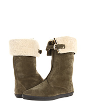 Burberry - Shearling Lined Suede Weather Boots
