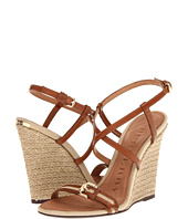 Burberry - Cotton Gabardine Espadrille Wedges