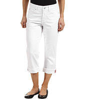 NYDJ Petite - Petite Edna Crop in Optic White