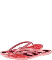 Burberry - Stripe Jelly Sandals