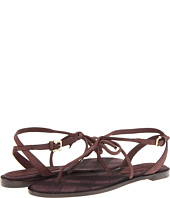 Burberry - Bow Detail Leather Sandals