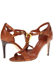 Burberry - Equestrian Buckle Leather Sandals