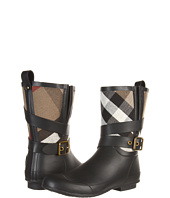 Burberry - Brit Check Biker Boots