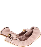 Burberry - Buckle Detail Nubuck Ballerinas