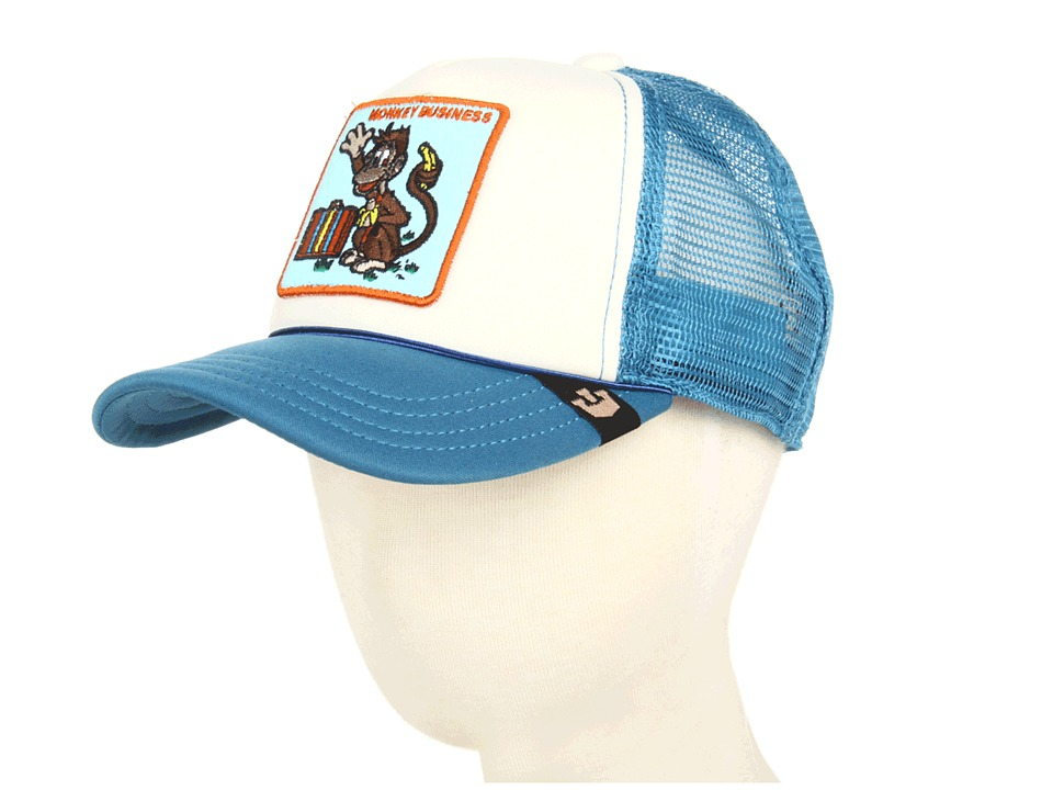 Goorin Brothers - Monkey Business (Kids) (Blue) Caps