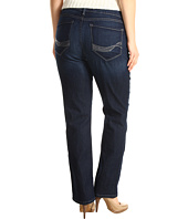 NYDJ Plus Size - Plus Size Marilyn Straight in Hollywood Wash
