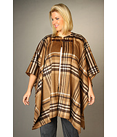MICHAEL Michael Kors Plus - Plus Size Plaid Blanket Buckle Coat